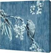 "PrintArt.com PrintArt GW-POD-32-SE064-A-12x12 ""Denim Songbird II"" by Edward Selkirk Gallery Wrapped Giclee Canvas Art Print"