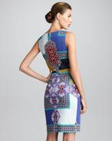 Etro Sleeveless Printed Sheath Dress