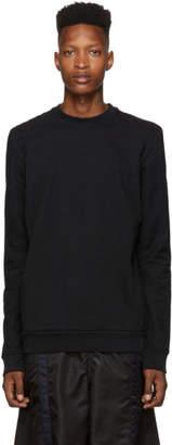 11 By Boris Bidjan Saberi Black Dyed Sweatshirt