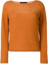 Loro Piana long-sleeve fitted sweater