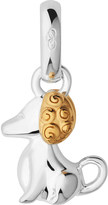Links of London Sterling silver and 18-carat yellow gold vermeil Chinese zodiac dog charm