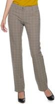 Apt. 9 Petite Torie Straight-Leg Dress Pants