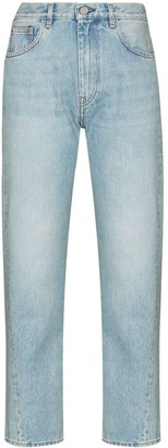Totême Twisted-Seam Cropped Jeans