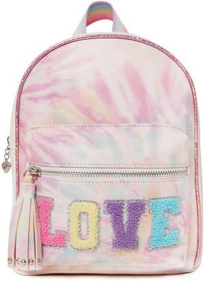 OMG Accessories OMG Love Tie Dye Mini Backpack