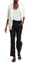 Chaus Wide Leg Linen Trouser