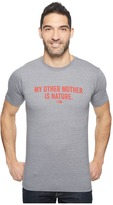 The North Face Short Sleeve Mother Nature Tri-Blend Tee ) Men's T Shirt