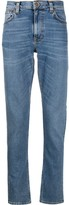 Nudie Jeans mid rise straight jeans