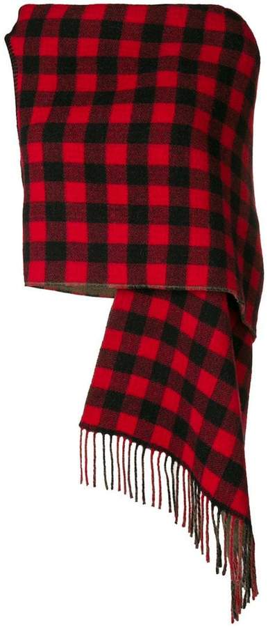 Preen by Thornton Bregazzi Tu checked large scarf
