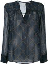 Etoile Isabel Marant Bowtie blouse - women - Silk - 36