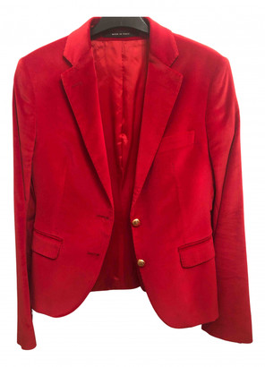 Tagliatore Red Velvet Jackets