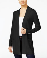 JM Collection Open-Front Cardigan, Only at Macy's