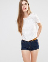 Jack Wills Lace Insert Top