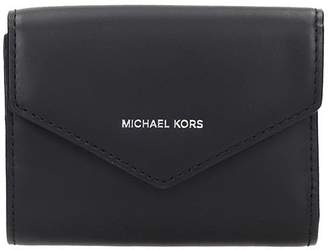 Michael Kors Wallet In Black Leather