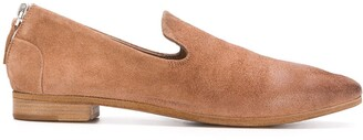 Marsèll pointed low heel loafers