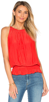 Ramy Brook Sleeveless Lauren Top in Red. - size M (also in S,XS)