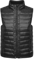 Replay Padded Gilet Black