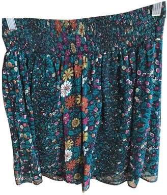 Swildens Multicolour Skirt for Women