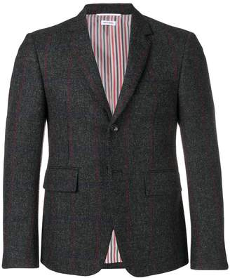 Thom Browne Herringbone Overcheck Tweed Sport Coat