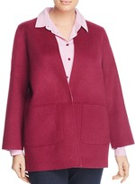 Marina Rinaldi Nido Double Face Wool Jacket