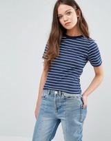 Daisy Street Stripe T-Shirt