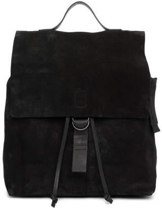 Marsèll Black Suede Cartaino Backpack