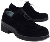 Thierry Rabotin Black Suede Lace Up Loafers