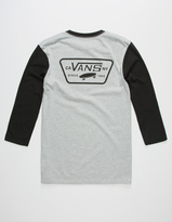 Vans Full Patch Boys Baseball Tee