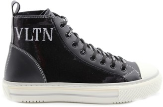 Sequin High Top Shoes   Shop the world