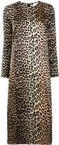 Ganni Leopard Print Dress