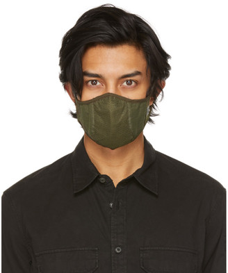 C.P. Company Khaki Plain Face Mask