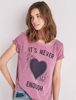 Lucky Brand Never Enough Tee