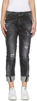 DSQUARED2 Black Workwear Jeans