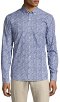 Toscano Long Sleeve Printed Sportshirt