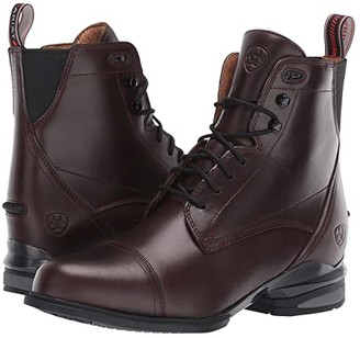 Ariat Performer Nitro Paddock (Waxed Chocolate) Women's Lace-up Boots