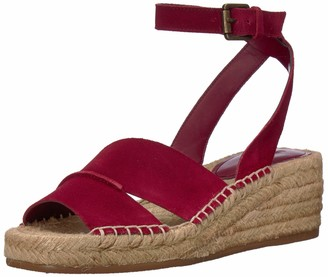 Nine West Women's EDWISHA Suede Wedge Sandal