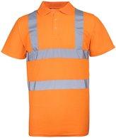 RTY High Visibility Mens High Vis Polo Shirt (XXL)
