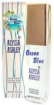 Alyssa Ashley Ocean Blue Eau de Toilette Spray for Women, 3.4 Fluid Ounce