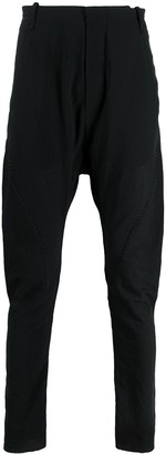 Masnada Tapered Drop-Crotch Trousers