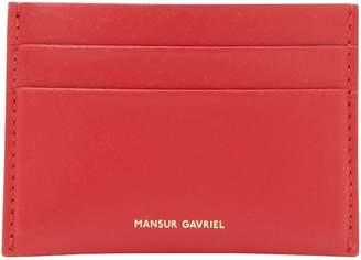 Mansur Gavriel Leather card holder