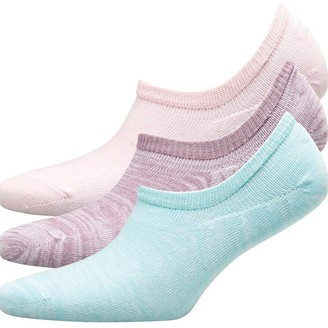 Fruit Cake Fruitcake Womens Three Pack Invisible Trainer Liners Space Dye