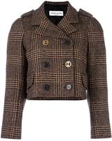 Sonia Rykiel tweed cropped jacket - women - Cupro/Wool/Alpaca - 38