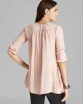 Free People Tunic - Yummy Dobby Whistle While You Work