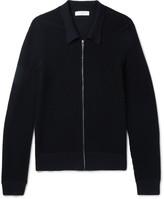 Sandro - Wool-blend Zip-up Cardigan
