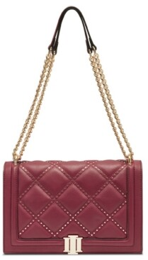 INC International Concepts Inc Ajae Flap Studded Crossbody, Created for Macy's