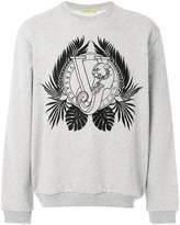 Versace designer logo printed sweatshirt