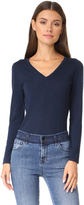 TSE Long Sleeve V Neck Sweater