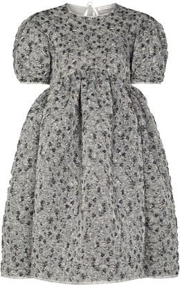 Cecilie Bahnsen Boucle-Style Flared Dress