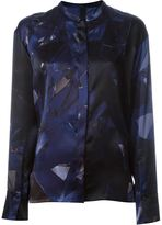 Ilaria Nistri geometric print shirt - women - Silk - 40