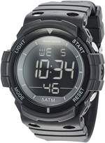 Skechers Men's 'Oversize Digi' Quartz Plastic and Silicone Casual Watch, Color: (Model: SR1093)