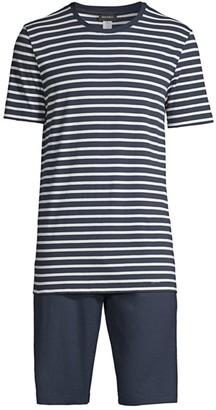 Hanro Night & Day 2-Piece Short-Sleeve Pajama Set
